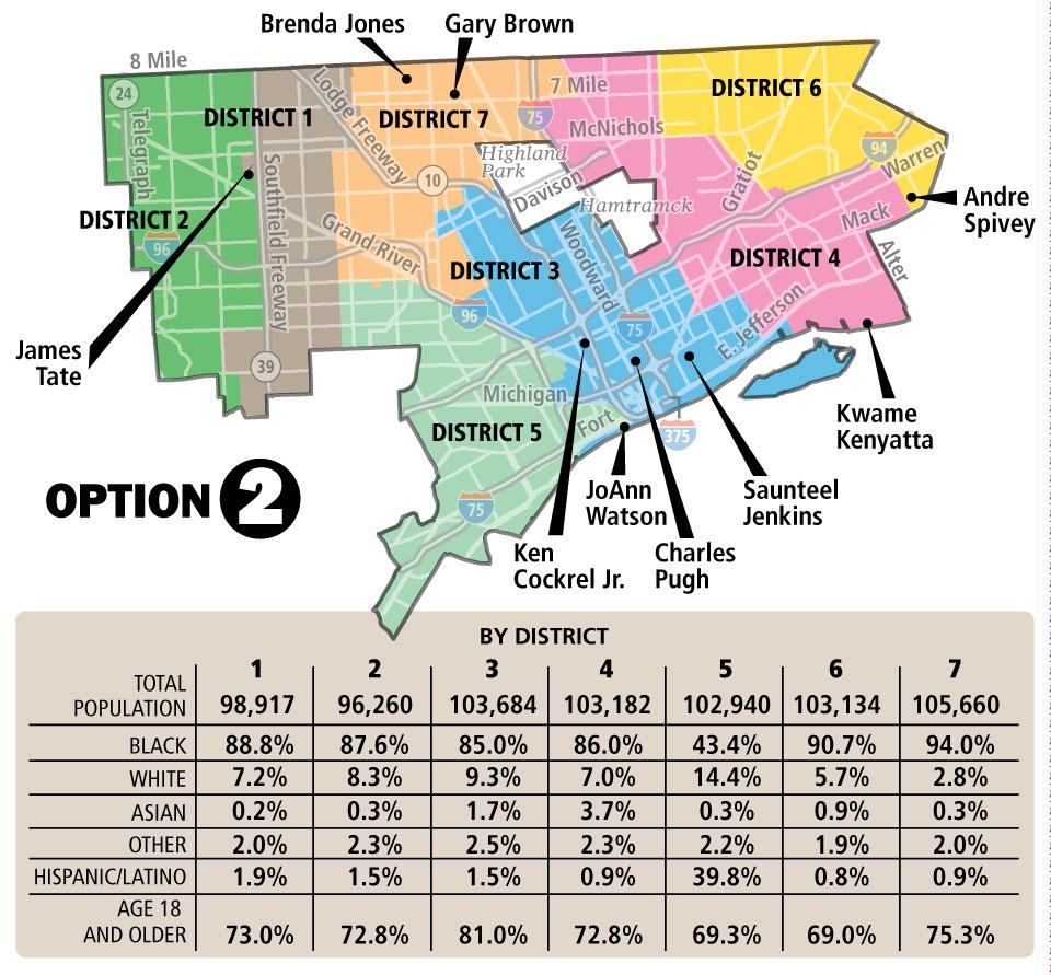 Southwest Detroit Map
